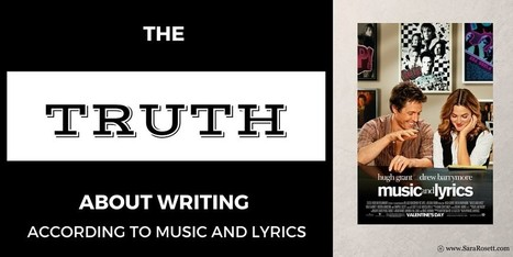The Truth about Writing According to Music and Lyrics - Girlfriends Book Club | All Things Bookish: All about books, all the time | Scoop.it