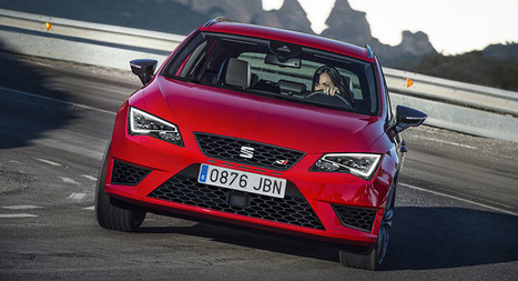 Take That Audi RS4 Avant: Seat's Leon Cupra ST Is Now The Fastest Estate ... - Carscoops (blog) | SJB Autotech News | Scoop.it