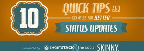 10 Tips for Better Social Media Status Updates | Recruitment | Scoop.it