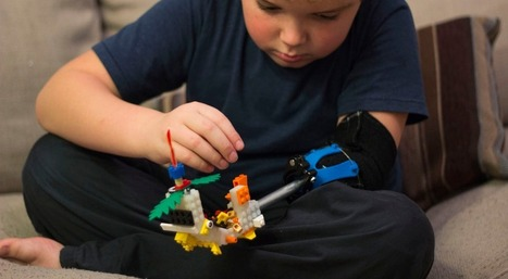 3D Printed Adjustable, Multi-Attachment Prosthesis Allows Boy to Play Violin, Wii, and Ride a Bike | tecnologia s sustentabilidade | Scoop.it