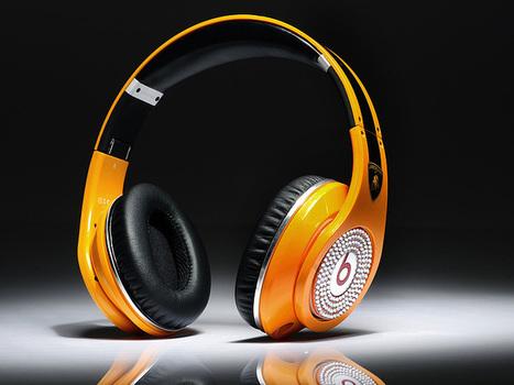 Eye-catching Monster Beats Studio Lamborghini Diamond Headphones_hellobeatsdreseller.com | Beats Dre Diamond Lambo | Scoop.it