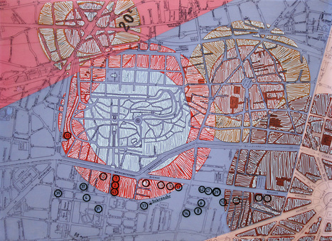 'Calligraffiti' on Found Maps of Cities | Urban Life | Scoop.it