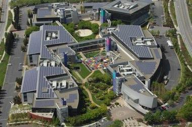 Google llena de paneles solares su oficina principal | Cubierta Solar | estamosimplicados.com | Autoconsumo | Balance Neto | Ahorro y Eficiencia Energética | Scoop.it