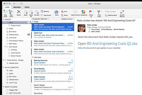 Microsoft Overhauls Outlook for Mac, Promises Word, PowerPoint and Excel in 2015   Microsoft Excel   Scoop.it