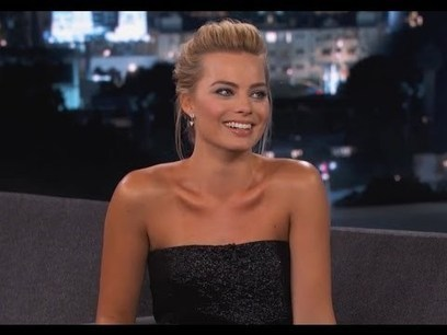 Margot Robbie on Jimmy Kimmel Live PART 1 | Funny Viral Videos | Scoop.it