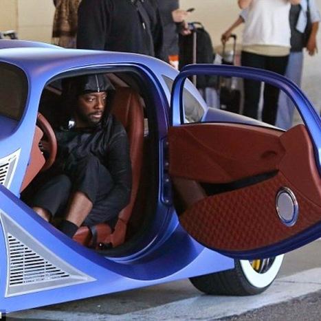Will.i.am Custom Car - Grease n Gasoline   Electronics news   Scoop.it