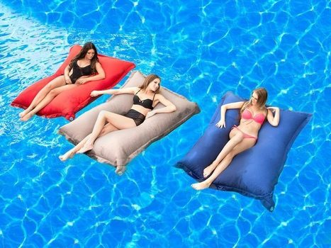 How To Make A Splash With Pool Bean Bags   Bean Bags   Scoop.it