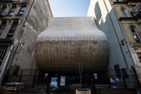 TriBeCa Synagogue's Memorable Building and Stubborn Architect - New York Times   construction   Scoop.it