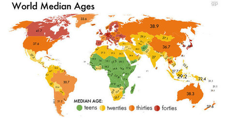 32 Maps That Will Teach You Something New About the World | AP Human Geography | Scoop.it