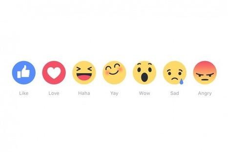 Facebook Unveils 'Reactions,' Emoji Buttons That Go Beyond 'Like': What the Buttons Mean for Brands | MarketingHits | Scoop.it