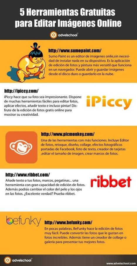 5 herramientas gratuitas para editar imágenes online | tics | Scoop.it