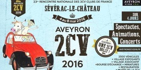 Sévérac-le-Château : Aveyron 2 CV 2016 séduit La Rochelle | L'info tourisme en Aveyron | Scoop.it
