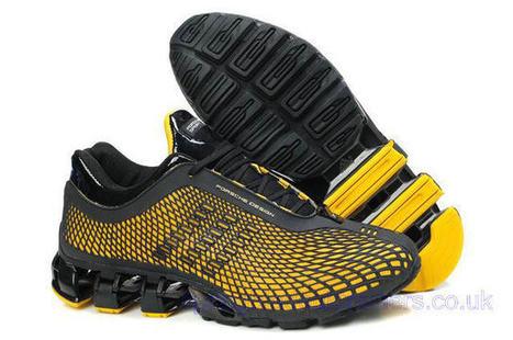 Adidas Porsche Design Sport Bounce S3 Running Trainers Black Yellow.jpg (640x425 pixels) | springbladeuktrainers.co.uk | Scoop.it