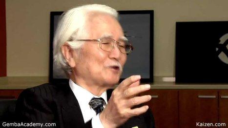 Masaaki Imai, Author of KAIZEN: The Key to Japa... | lean | Scoop.it