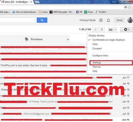 How To Access GMail Offline. | TrickFlu | TrickFlu | Scoop.it
