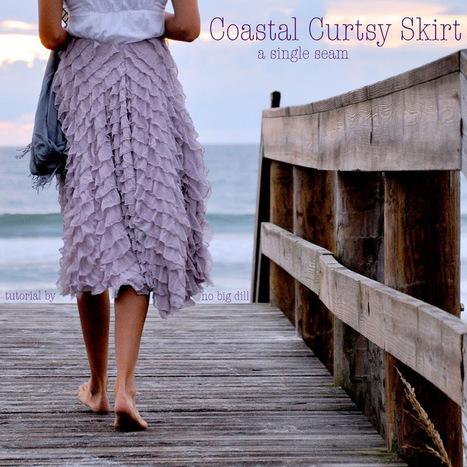 no big dill: Coastal Curtsy Skirt Tutorial | DIY Crafts and Decor | Scoop.it