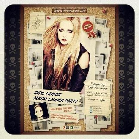 Album Lauch Party with Sony Music Malaysia!   MY PAGE : Avril Lavigne Malaysia Fansite (OFFICIALMF)   Scoop.it