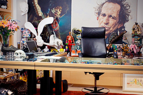 A Look Inside Mark Parker's Office (NIKE's CEO) | Design | Scoop.it