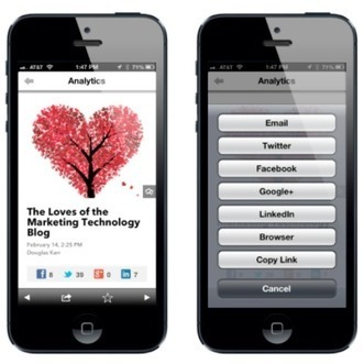 Branded Mobile Content Apps | Social Media, SEO, Mobile, Digital Marketing | Scoop.it