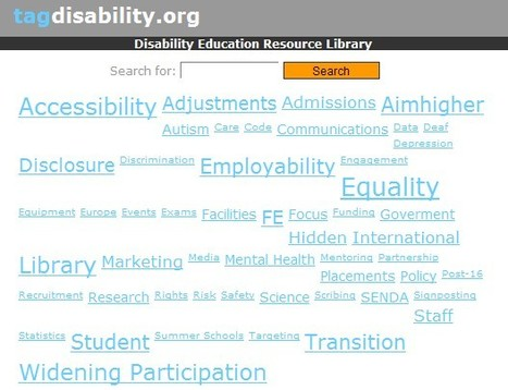 tagdisability.org - Disability Education Resource Library | Inclusive teaching and learning | Scoop.it