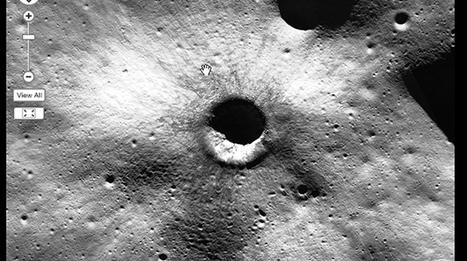 NASA's ultra-composite image shows the Moon in 850 billion pixels of detail | Science! | Geek.com | iScience Teacher | Scoop.it