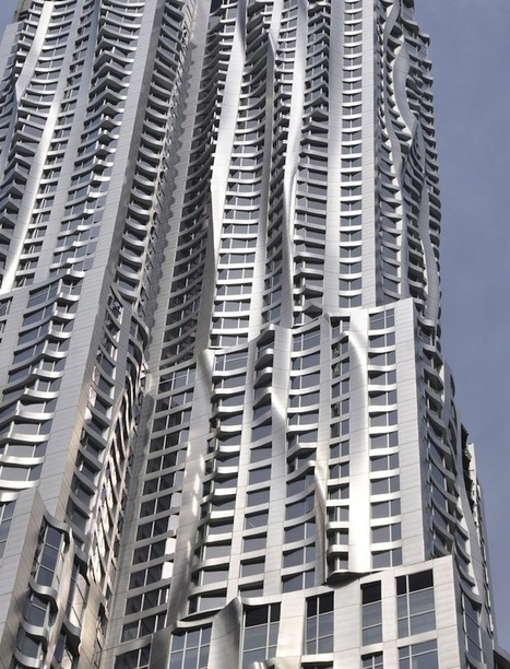 Gehry Transforms Manhattan's Skyline (9 pics + video) - My Modern Metropolis | 建築 | Scoop.it
