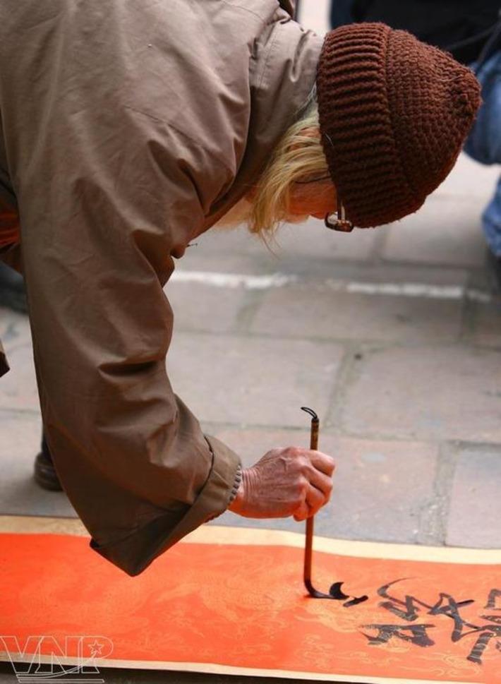 Calligrapher Cung Khac Luoc | VietnamNet | Kiosque du monde : Asie | Scoop.it