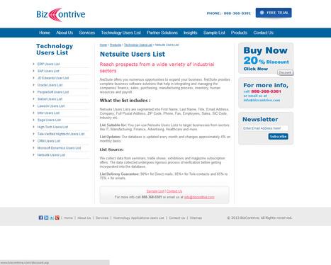Netsuite User List | Bizcontrive | Scoop.it