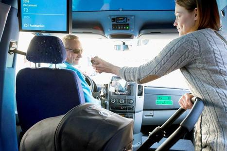 New Helsinki Bus Line Lets You Choose Your Own Route | Autopia | WIRED | Towards Society 3.0 | Scoop.it