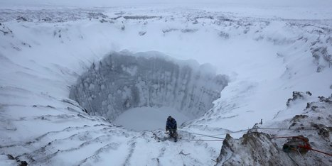 Giant holes are bursting open in #Siberia, and you can hear the explosions from 60 miles away #methane #permafrost | Messenger for mother Earth | Scoop.it