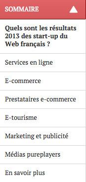 Quels sont les résultats 2013 des start-up du Web français ? | Marketing digital | Scoop.it