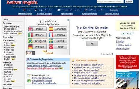 Saber Inglés, cursos y recursos gratuitos para aprender o perfeccionar tu inglés | Magazín interactivo digital | Scoop.it