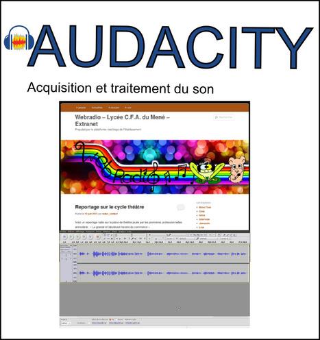 Fiches/Tutoriels et Memento Audacity | TICE et Web 2.0 | Scoop.it