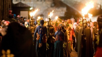 Samhuinn Festival lights up Edinburgh's Royal Mile   DJ.Womble Daily - Magazine   Scoop.it