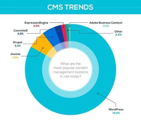 Joomla et Drupal se font plaquer à terre par le CMS WordPress | Actualités sur les nouvelles technologies et les innovations web, réseaux sociaux , smartphones et tablettes | Scoop.it
