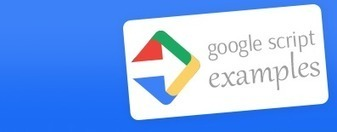 Add Reminders for Google Sheets - Google Apps Script Examples | Microsoft Excel & autres tableurs | Scoop.it