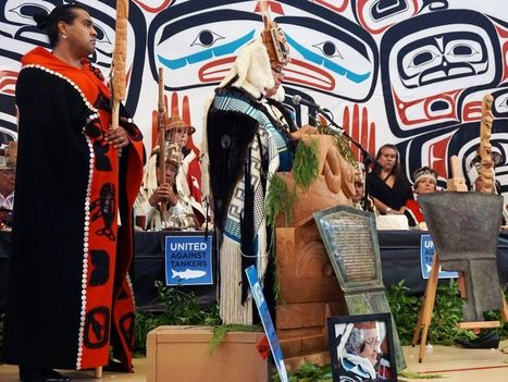 Haida strip two hereditary chiefs of titles for supporting Enbridge | Politics in Alberta | Scoop.it