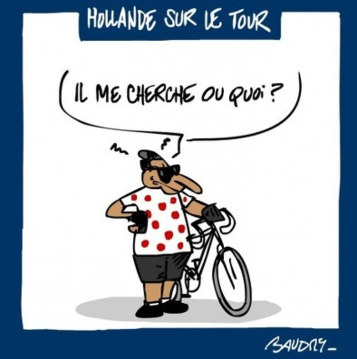 Hollande sur le Tour de France | Baie d'humour | Scoop.it