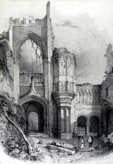 Saint-Pierre-de-Manneville.: Ruines de la Commanderie de Sainte-Vaubourg au Val-de-la-Haye. | MaisonNet | Scoop.it
