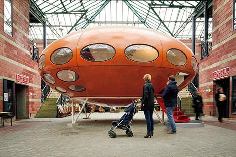 パリで謎のUFO住宅〈フトゥロ〉を発見! | casabrutus.com | Velvet Galerie | Scoop.it