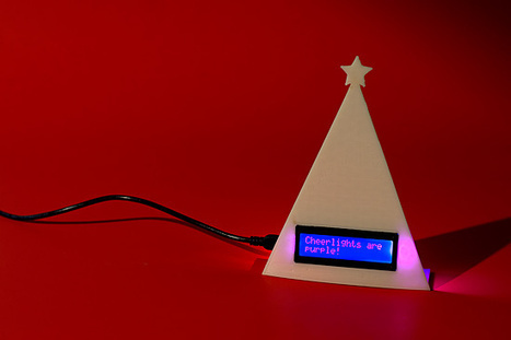 """CheerLights"" - Social Network Christmas Treat 