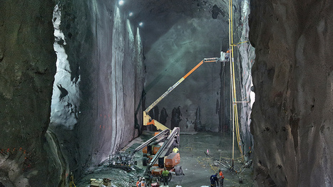 The Colossal Railway That's Quietly Taking Shape 160 Feet Below NYC | ConstructNext | Scoop.it