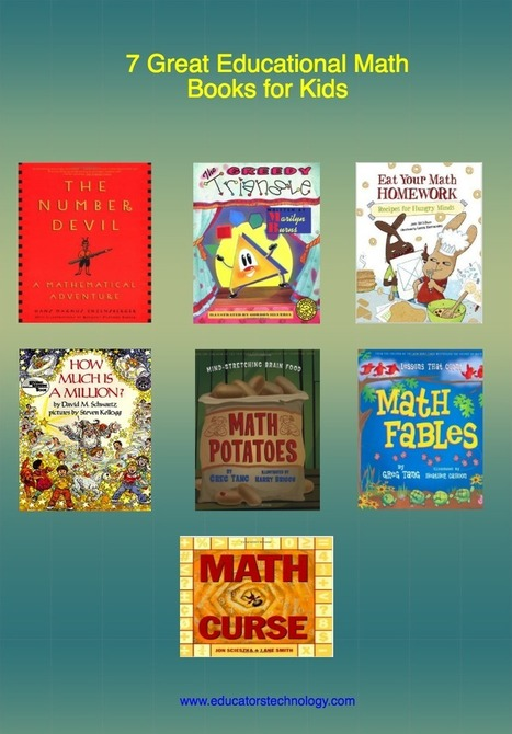 Educational Technology and Mobile Learning: 7 Great Educational Math Books for Kids @medkh9 | TCDSB21C & Math | Scoop.it