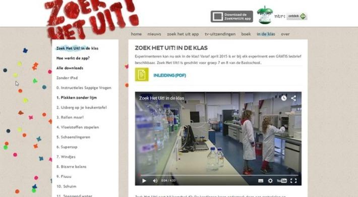 Edu-Curator: Het Klokhuis presenteert: de 'Zoek het uit!'-app voor in de klas | Educatief Internet - Gespot op 't Web | Scoop.it