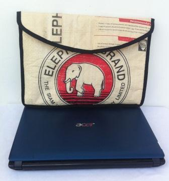 Eco-friendly Elephant Cement Laptop Bag, ethically handmade by disabled home based workers. | Eco-Friendly Messenger Bags By Disabled Home Based Workers. | Scoop.it