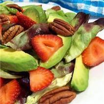 Strawberry Avocado Salad   How can you get your greens?   Scoop.it