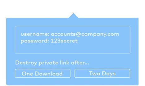 Short-term File Sharing — Torpedo | Trucs et astuces du net | Scoop.it