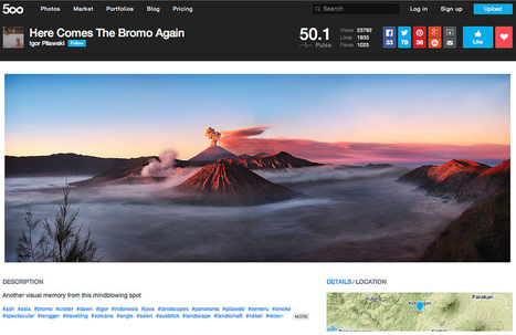 500px Adds MapBox Maps | MapBox | Social Media Creativity | Activities | Scoop.it