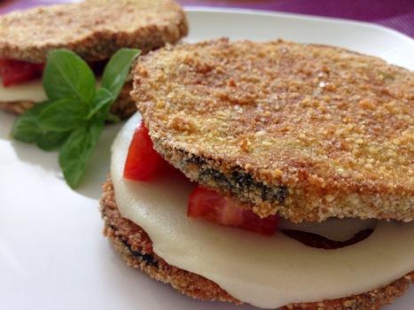 Cotolette di melanzane imbottite | Alimentazione Naturale, EcoRicette Veg e Vegan | Scoop.it