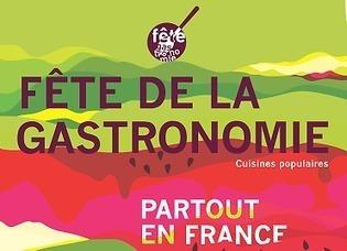 Fête de la gastronomie : le succès des cuisines populaires | Fête de la Gastronomie 23 au 25 sept. 2016 | Scoop.it